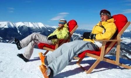 лагерь туриста зимой