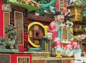 статуя в Гонконге