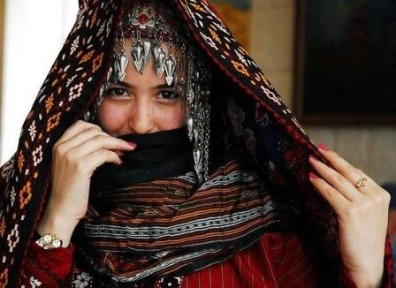 туркменский женский головной убор