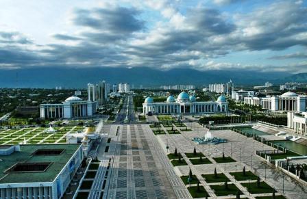 столица Туркмении - Ашгабат