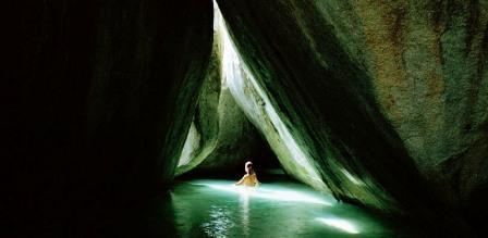 пещера на виргинских островах
